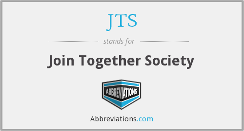 JTS - Join Together Society