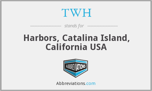 TWH - Harbors, Catalina Island, California USA