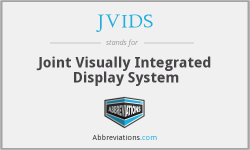 What does JVIDS stand for?