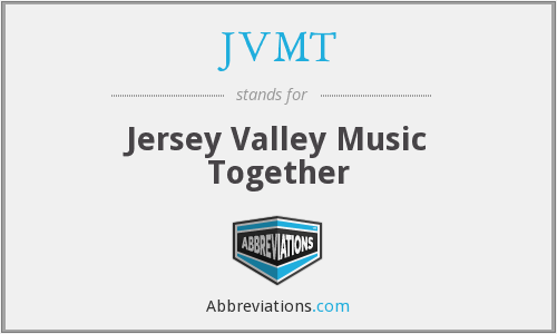What does JVMT stand for?