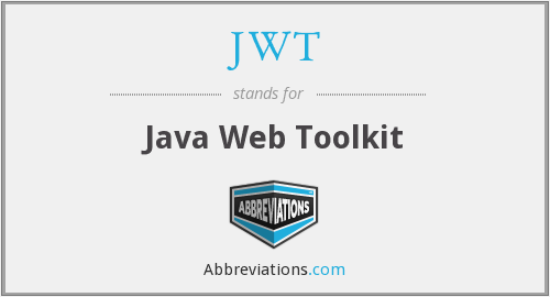 JWT - Java Web Toolkit