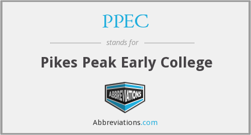 PPEC - Pikes Peak Early College