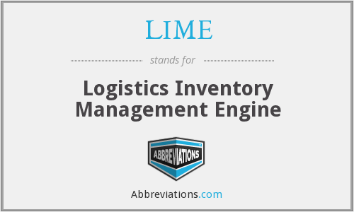 LIME - Logistics Inventory Management Engine