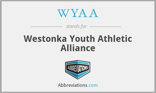 WYAA - Westonka Youth Athletic Alliance