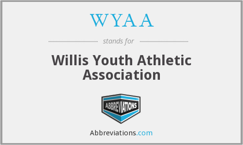 WYAA - Willis Youth Athletic Association
