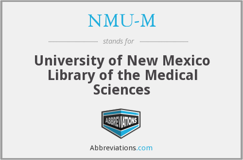 What does NMU-M stand for?
