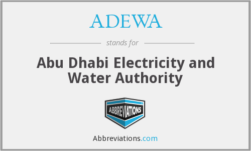 What does ADEWA stand for?