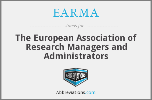 What does EARMA stand for?
