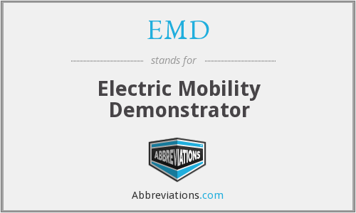 EMD - Electric Mobility Demonstrator