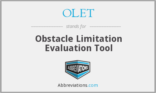 What does OLET stand for?