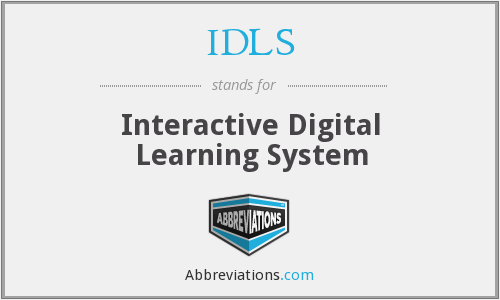 What does IDLS stand for?