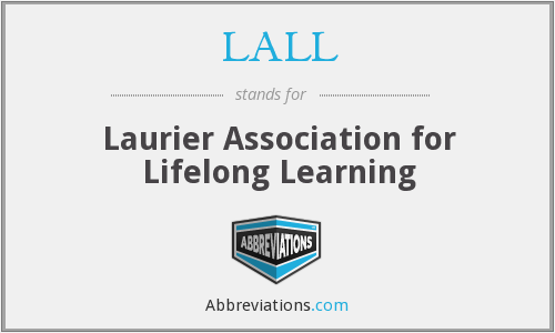 LALL - Laurier Association for Lifelong Learning