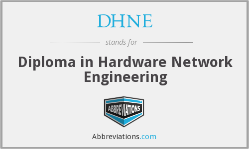 What does DHNE stand for?