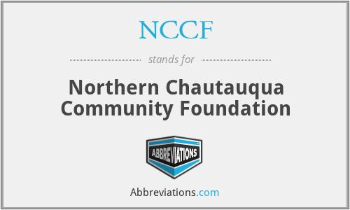 NCCF - Northern Chautauqua Community Foundation