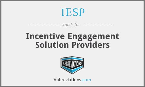 What does IESP stand for?
