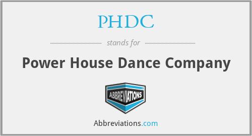 PHDC - Power House Dance Company