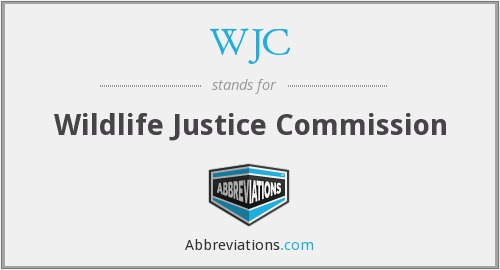 WJC - Wildlife Justice Commission