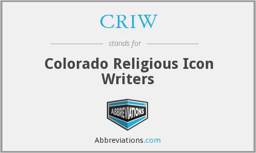 What does CRIW stand for?