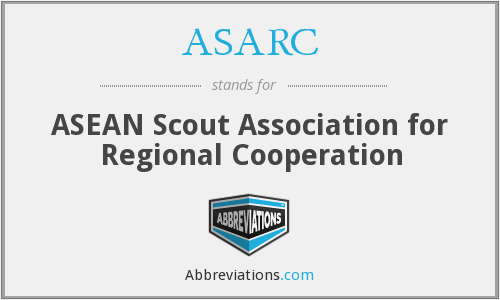 ASARC - ASEAN Scout Association for Regional Cooperation