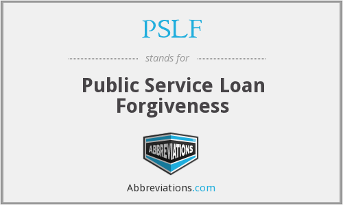 What does PSLF stand for?