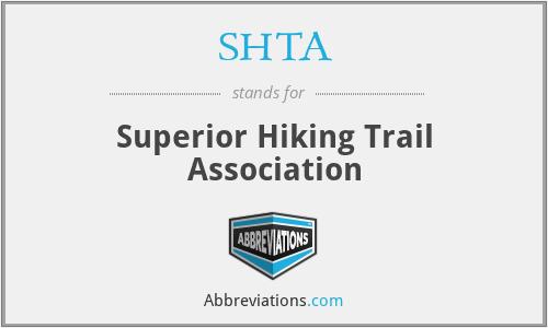 SHTA - Superior Hiking Trail Association