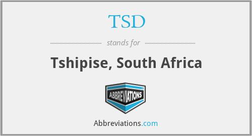 TSD - Tshipise, South Africa