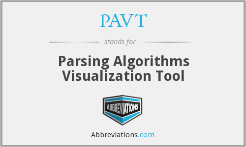 What does PAVT stand for?