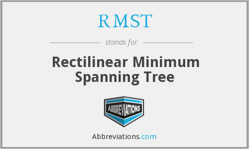 RMST - Rectilinear Minimum Spanning Tree