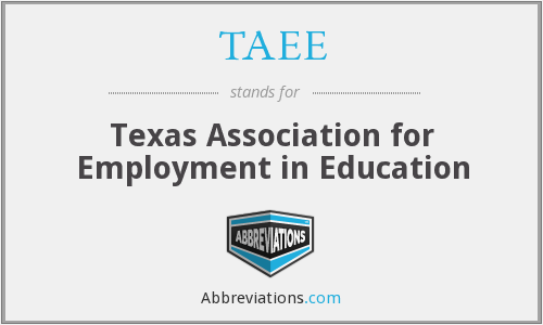 What does TAEE stand for?