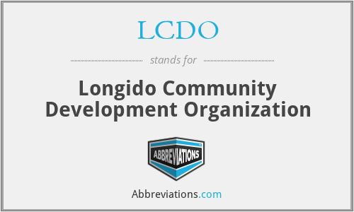 LCDO - Longido Community Development Organization