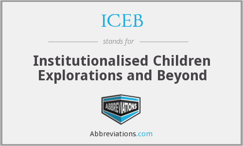 What does ICEB stand for?