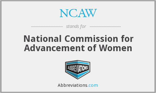 What does NCAW stand for?