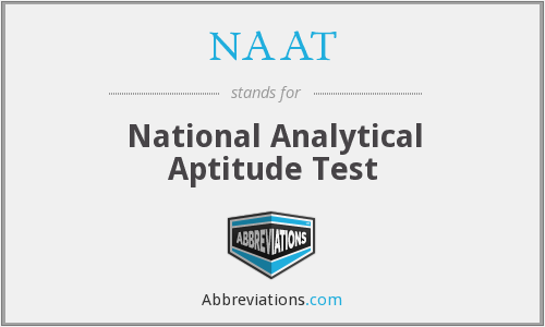 NAAT - National Analytical Aptitude Test