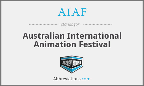 AIAF - Australian International Animation Festival