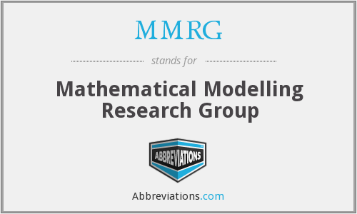 MMRG - Mathematical Modelling Research Group