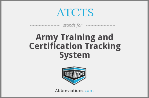 What does ATCTS stand for?