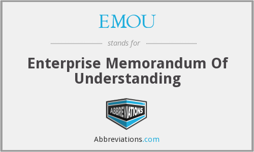 What does EMOU stand for?