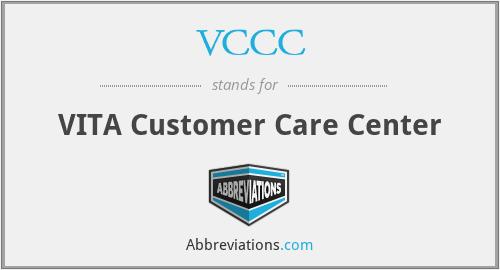 VCCC - VITA Customer Care Center