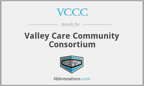 VCCC - Valley Care Community Consortium