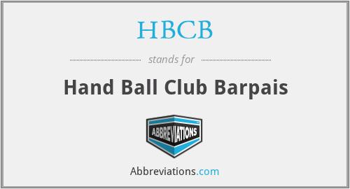 HBCB - Hand Ball Club Barpais