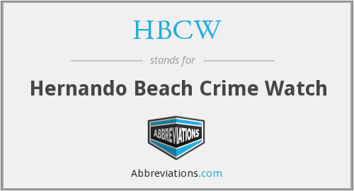 What does HBCW stand for?