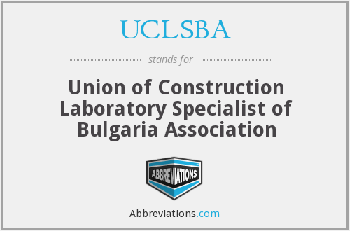 What does UCLSBA stand for?