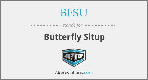 BFSU - Butterfly Situp