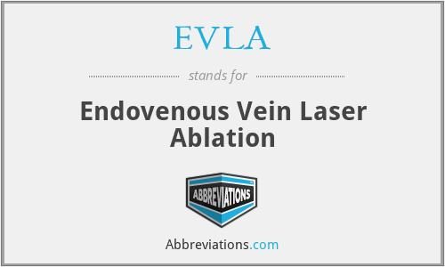 EVLA - Endovenous Vein Laser Ablation