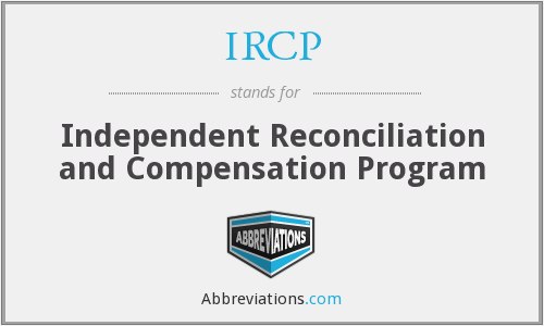 What does IRCP stand for?