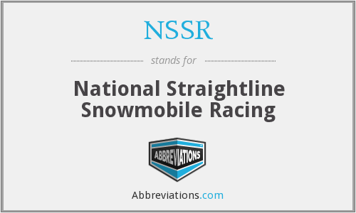 What does NSSR stand for?