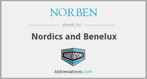 What does NORBEN stand for?