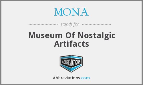 What does artifacts stand for?