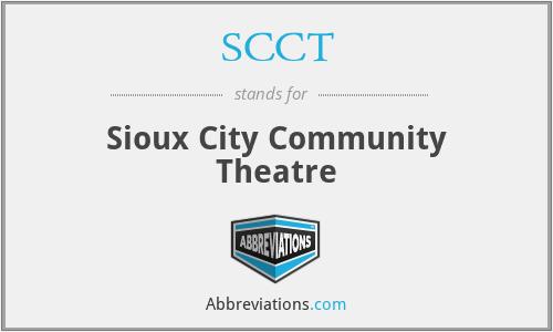 SCCT - Sioux City Community Theatre