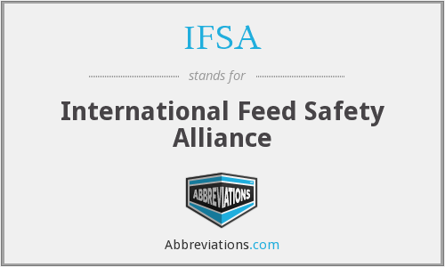 IFSA - International Feed Safety Alliance